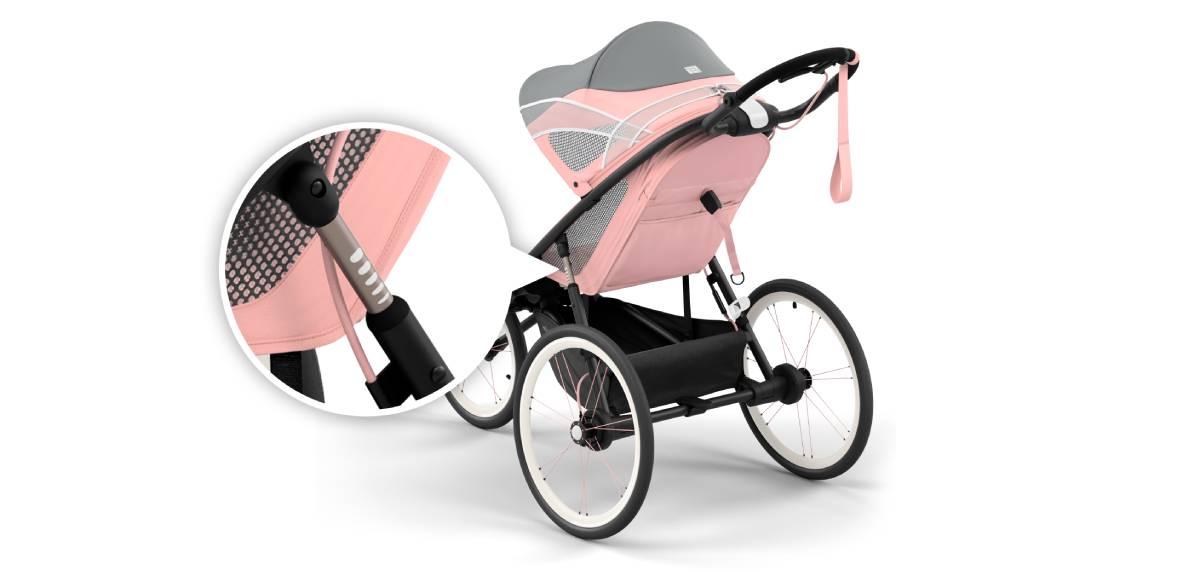 Cybex AVI, la silla de bebé diseñada específicamente para correr. Cybex Sport.