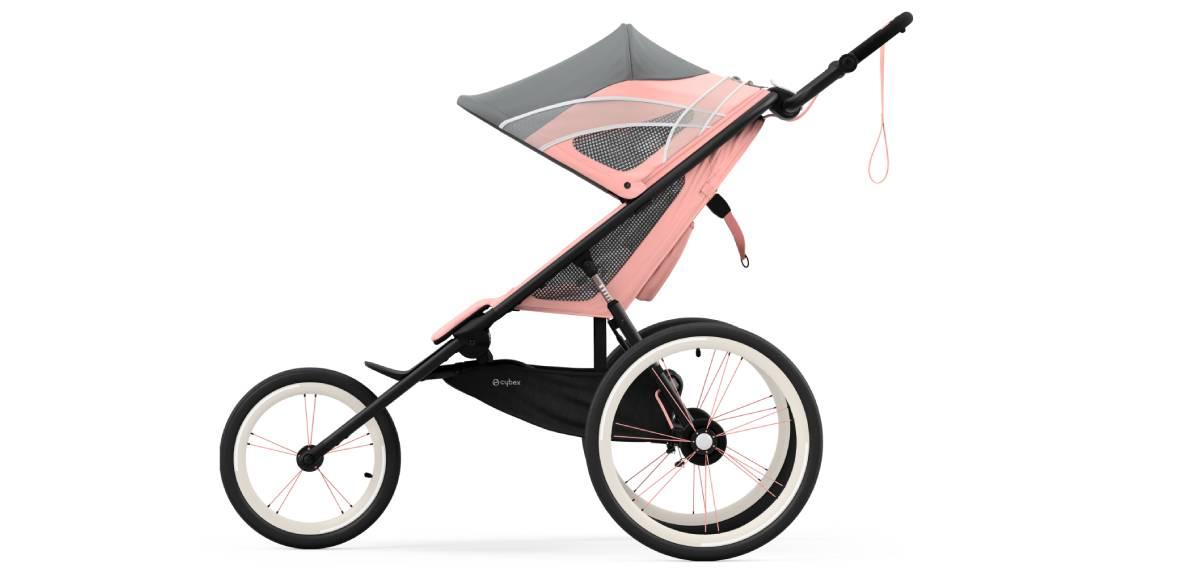 Cybex AVI, la silla de bebé diseñada específicamente para running. Prestaciones.