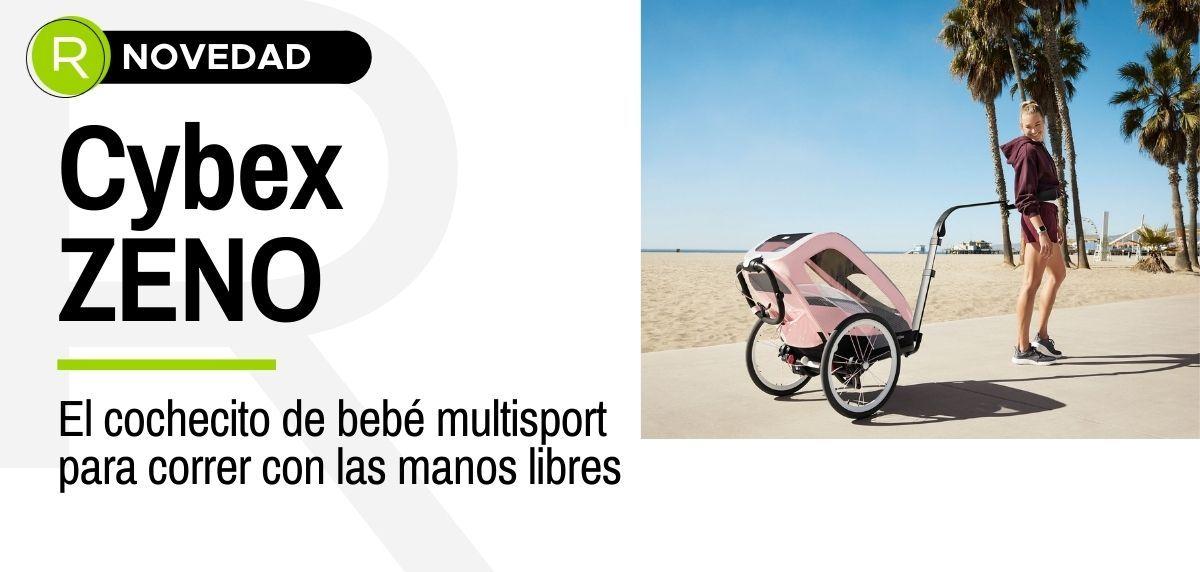 Cybex ZENO, el cochecito de bebé multisport para correr con las manos libres