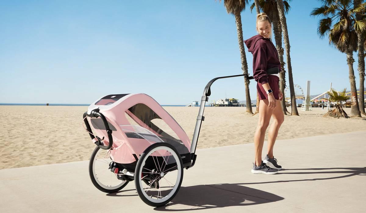 Cybex ZENO, el cochecito de bebé multisport para correr con las manos libres. Cybex Sport.