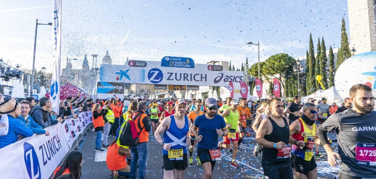 Guía completa para correr la Zurich Marató de Barcelona, información básica de la carrera