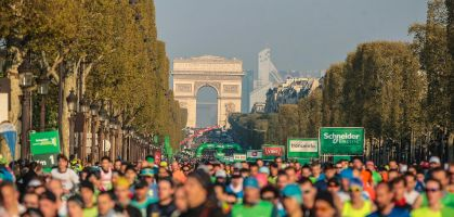 Maratón de París 2021: directo y clasificación
