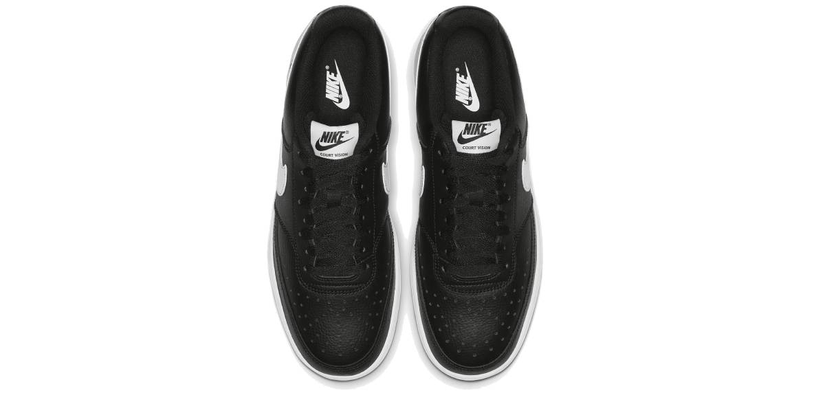 Nike Court Vision Low, upper