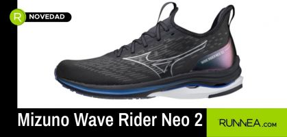 Descubre el gran poder de propulsión de las Mizuno Wave Rider Neo 2