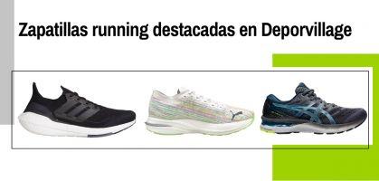 Ranking de las mejores zapatillas de running en Deporvillage