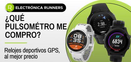 Los mejores pulsómetros y relojes GPS en relación calidad/precio