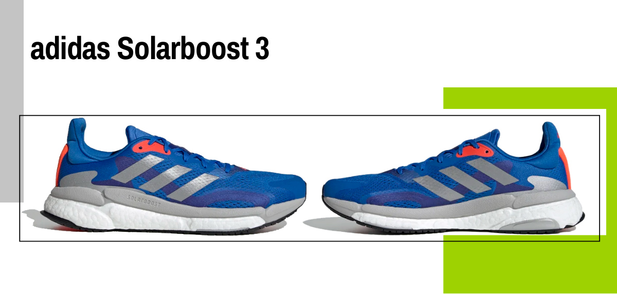 Mejores zapatillas para evitar la fascitis plantar - adidas solarboost 3