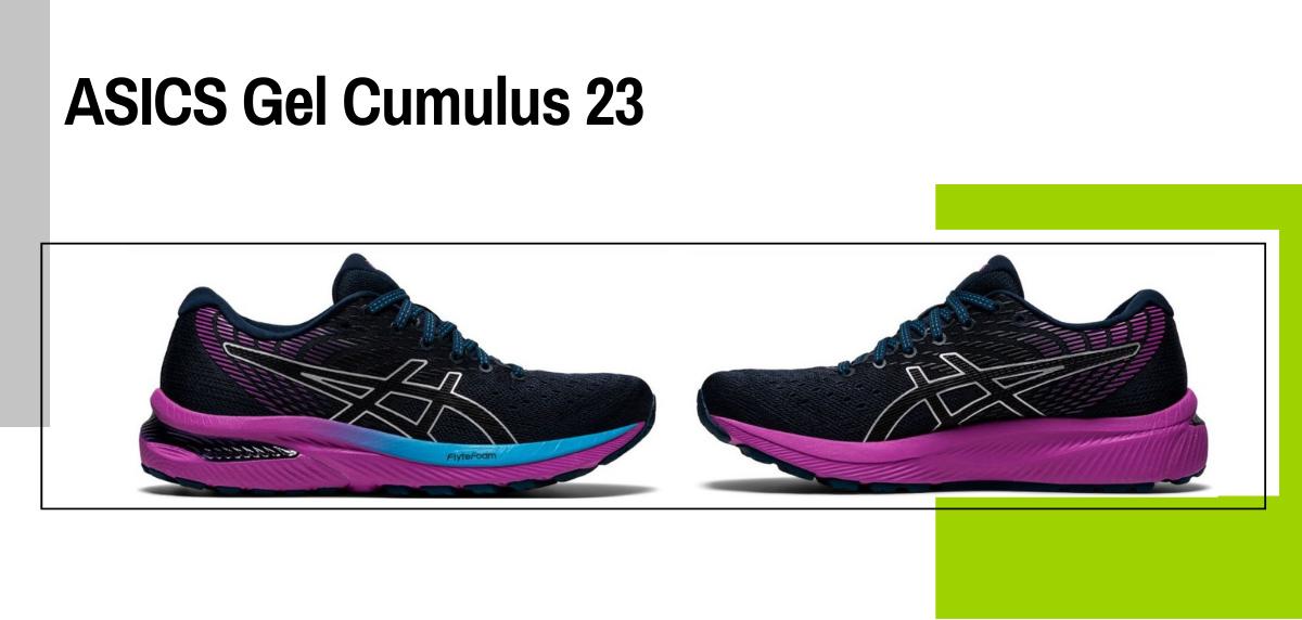 Mejores zapatillas running para evitar la fascitis plantar - ASICS Gel Cumulus 23