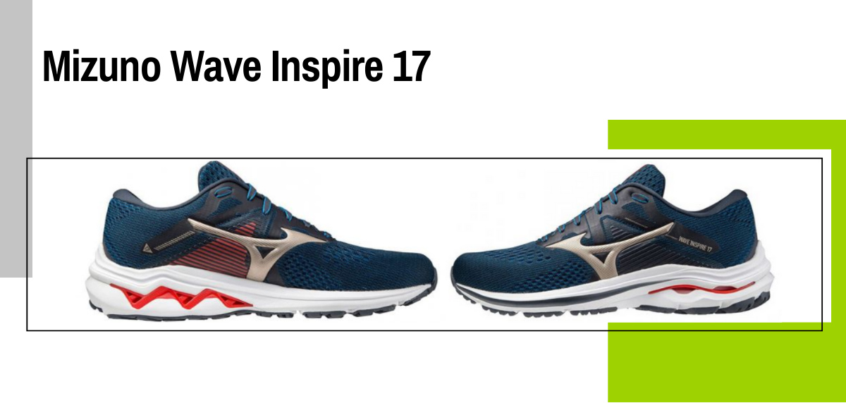 Mejores zapatillas para evitar la fascitis plantar - Mizuno Wave Inspire 17