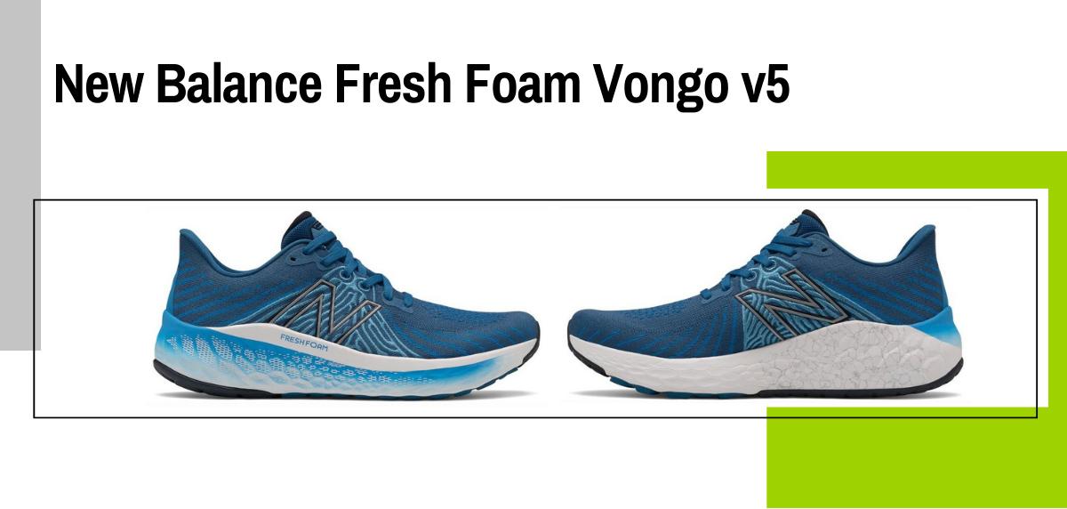 Mejores modelos para evitar la fascitis plantar - New Balance Fresh Foam Vongo v5
