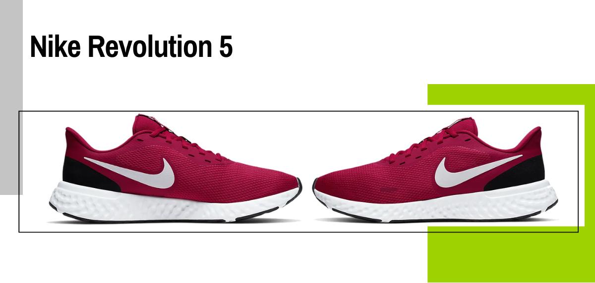 Mejores zapatillas para evitar la fascitis plantar - Nike Revolution 5
