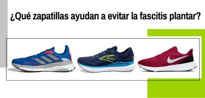 Las mejores zapatillas para evitar la fascitis plantar