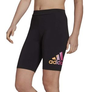 Mallas Short Casual_mujer_adidas W Fav Q2 Bk Sho L Negro