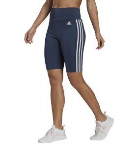 Mallas Short Fitness_mujer_adidas W 3s Sh Tig Azul Marino L