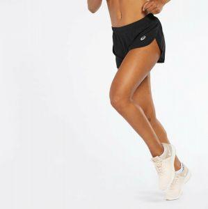 Pantalón Malla Running Asics - Negro - Pantalón Mujer