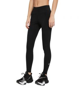 Mallas Largas Fitness_mujer_nike One L Negro