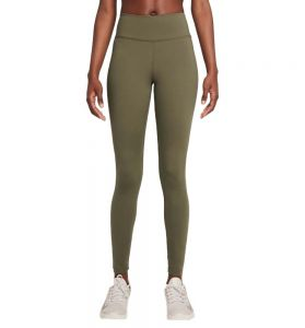 Mallas Largas Fitness_mujer_nike One M Verde