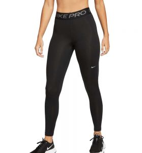 Mallas Largas Fitness_mujer_nike Pro Therma-fit L Negro