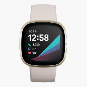Fitbit Sense - Blanco - Pulsómetro Running