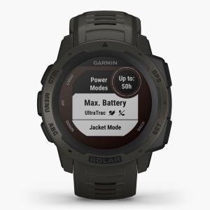 Garmin Instinct Solar - Negro - Reloj Deportivo