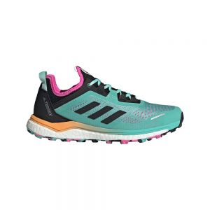 Adidas Zapatillas Trail Running Terrex Agravic Flow Acid Mint / Core Black / Screaming Pink