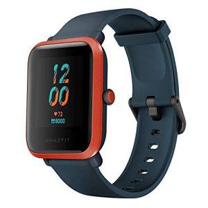 Amazfit Bip S Smartwatch 5ATM GPS GLONASS -Reloj inteligente con bluetooth y conectividad con Android e iOS - Version Global (Naranja)