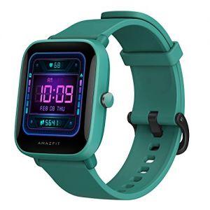 Amazfit Bip U Pro Reloj Inteligente con GPS 60+ Modos Deportivos 5 ATM Fitness Tracker Oxígeno en Sangre Frecuencia Monitor de sueño Alexa Voz Asisitante