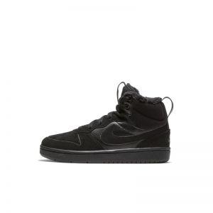 Nike Court Borough Mid 2 Botas - Niño/a pequeño/a - Negro