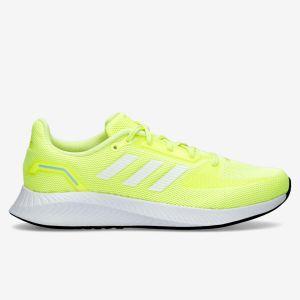 adidas Runfalcon 2.0 - Amarillo - Zapatillas Running Mujer
