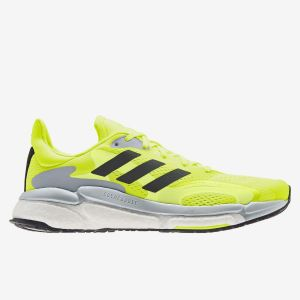 adidas Solar Boost 21 - Amarillo - Zapatillas Running Hombre