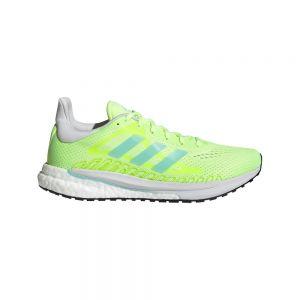 Adidas Zapatillas Running Solar Glide 3 W Hi-Res Yellow / Clear Aqua / Dash Grey