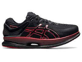 ASICS Metaride Black / Electric Red Hombre