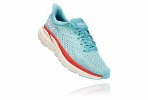 Zapatillas Hoka One One CLIFTON 8 para Mujer Azul / Blanco