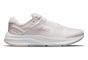 Zapatillas Nike Air Zoom Structure 24 para Mujer Beige / Rosa