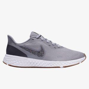 Nike Revolution 5 Premium - Gris - Zapatillas Running Hombre