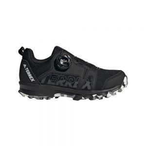 Adidas Terrex Agravic Boa Kid Core Black / Footwear White / Grey Three