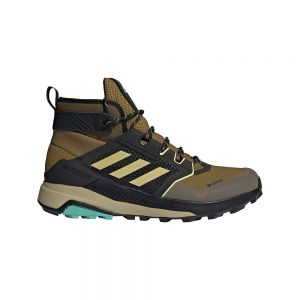 Adidas Terrex Trailmaker Mid Goretex Wild Moss / Halo Gold / Hi-Res Yellow